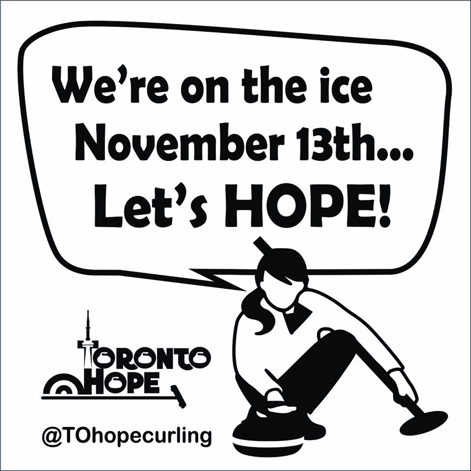 We're on the ice November 11 Let's Hope